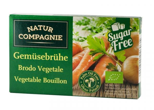 Supa bio de legume, 8 cuburi NATUR COMPAGNIE 0
