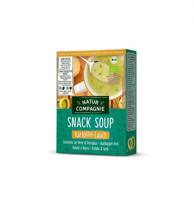 Supa bio instant de cartofi cu praz, 60 g NATUR COMPAGNIE [1]