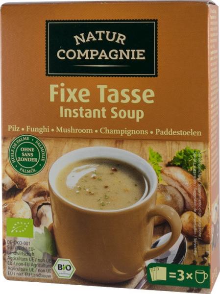 Supa bio instant de ciuperci, 3 BUC, 51g NATUR COMPAGNIE 0