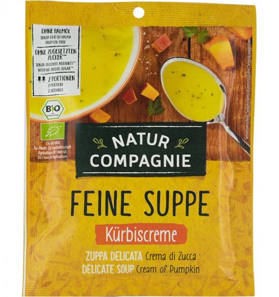 Supa crema Bio de dovleac, 40g NATUR COMPAGNIE 0