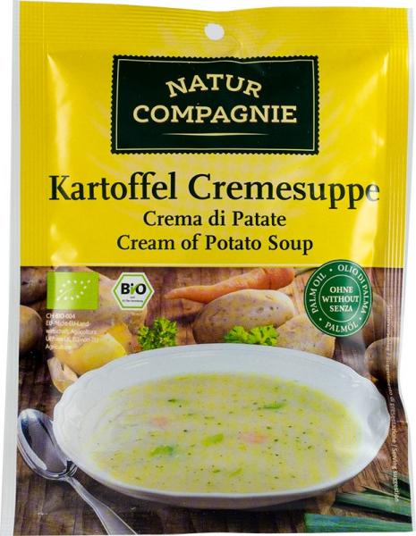 Supa crema de cartofi, bio, 48 g NATUR COMPAGNIE 0