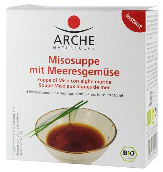 Supa Miso BIO cu legume de mare, 60g Arche 0