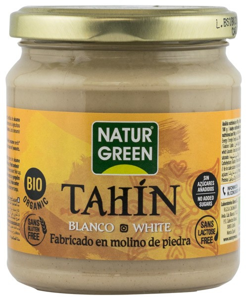 TAHINI ALB BIO, 300G NATUR GREEN 0