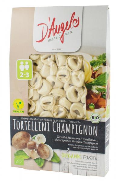 Tortellini bio cu ciuperci si ceapa, 250g D'Angelo Pasta [0]