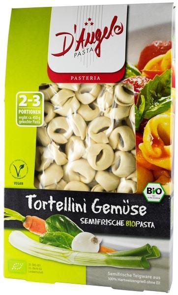 Tortellini bio cu legume, 250g D'Angelo Pasta 0