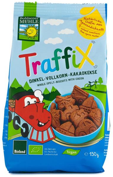 Traffix biscuiti Bio din grau spelta si cacao, 150g Bohlsener Muhle [0]