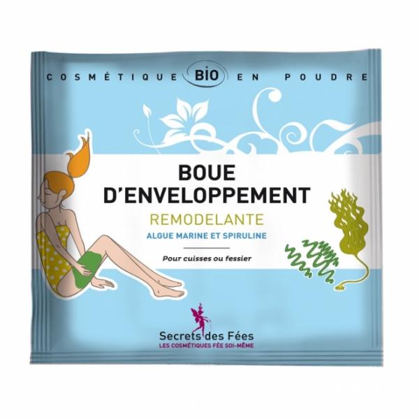 Tratament cu namol modelator, pentru corp, cu alge si spirulina, 40g 0