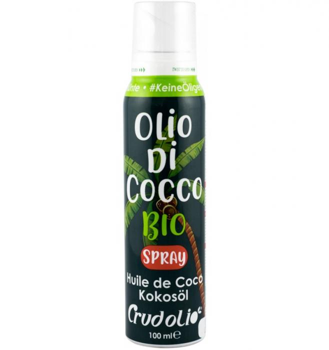 Ulei de cocos spray, 100 ML CRUDOLIO [0]