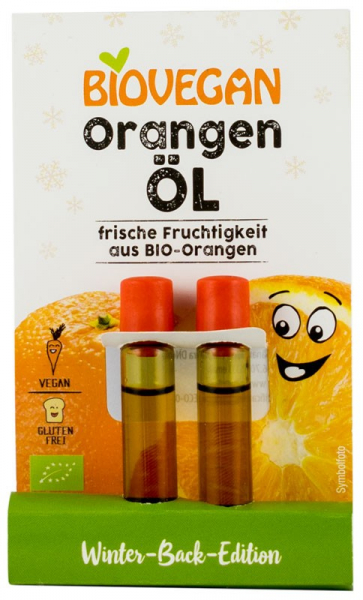 Ulei BIO de portocale, 2x2ml Biovegan 0