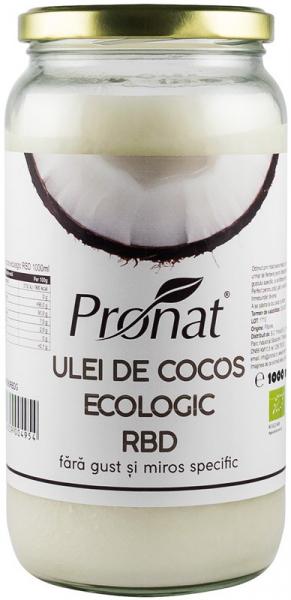 Ulei de cocos BIO RBD, 1000 ml 0