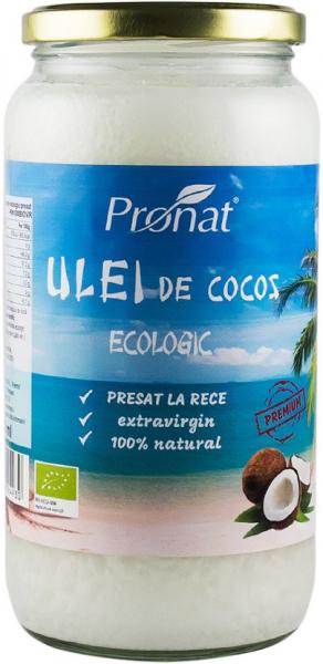 Ulei  de cocos extravirgin BIO presat la rece 1000 ml 0
