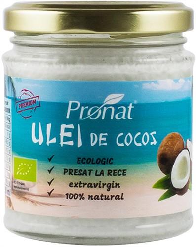 Ulei de cocos extravirgin BIO presat la rece 200 ml 0