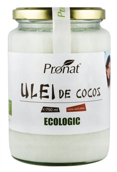 Ulei de cocos RBD Bio, 750 ML 0