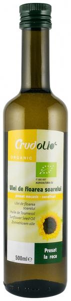 Ulei de floarea soarelui Bio 500 ml Crudolio 0