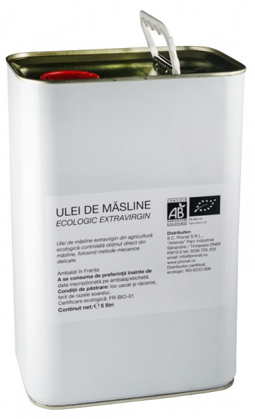 ULEI DE MASLINE BIO EXTRAVIRGIN, 5L [0]