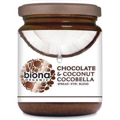 Unt de cocos cu ciocolata CocoBella bio 250g 0