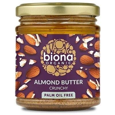 Unt de migdale crunchy bio 170g Biona [0]