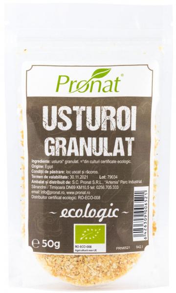 Usturoi uscat granulat fin BIO, 50 g 0