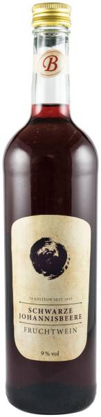 Vin de coacaze negre 9% vol.alcool, 750 ml Bavaria Waldfrucht 0