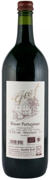 Vin rosu BIO Blauer Portugieser, 1 L GRAF 0