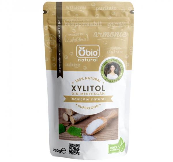 Xylitol (zahar mesteacan) 250g 0