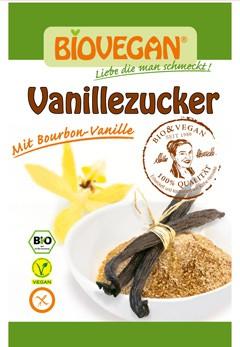 Zahar vanilat Bio, 8 g Biovegan [0]