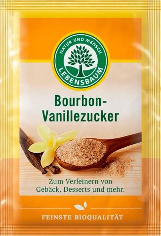 Zahar vanilat Bourbon bio, 4x8 g. LEBENSBAUM 0