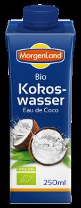 Apa de cocos, BIO, 250ml MORGENLAND