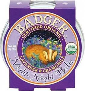 Mini balsam pt un somn linistit, Night-Night Baby Badger, pentru copii, 21 g0