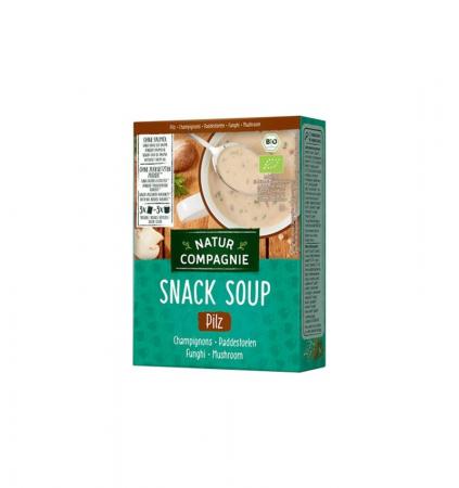 Supa bio instant de ciuperci, 3 BUC, 51g NATUR COMPAGNIE [1]