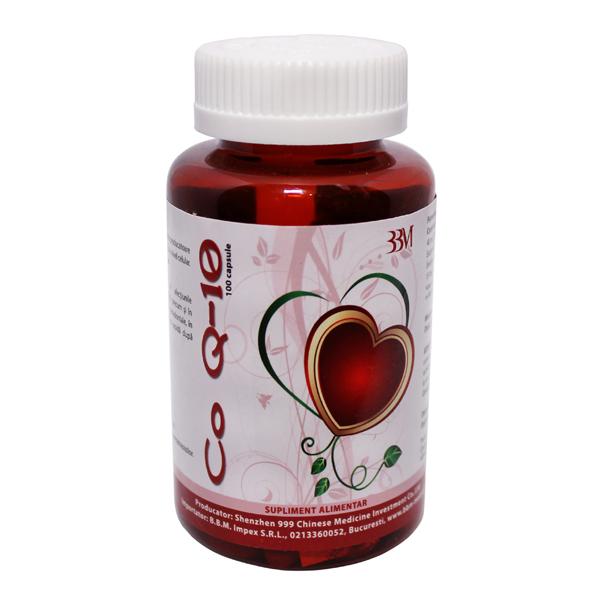 Coenzima Q10 + Vitamina E - 100 Capsule 0