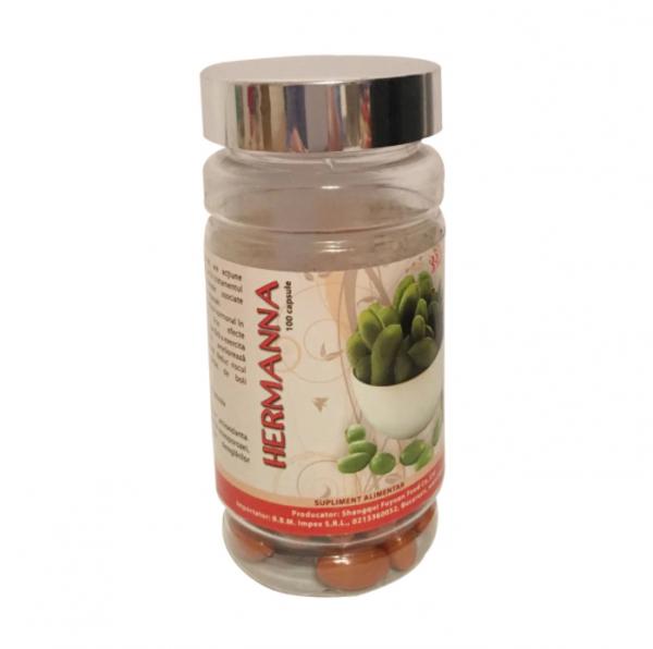 Hermana (Soybean isoflavone Soft Capsule) - 100 Capsule 0
