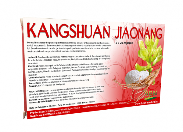 Kangshuan Jiaonang - 40 Capsule [0]
