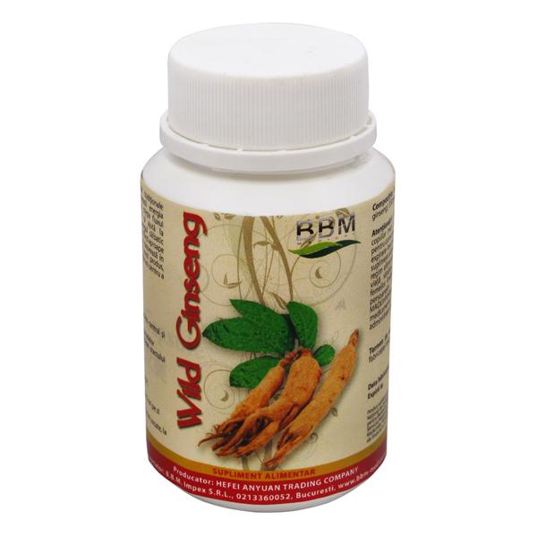 Wild Ginseng - 100 Capsule 0