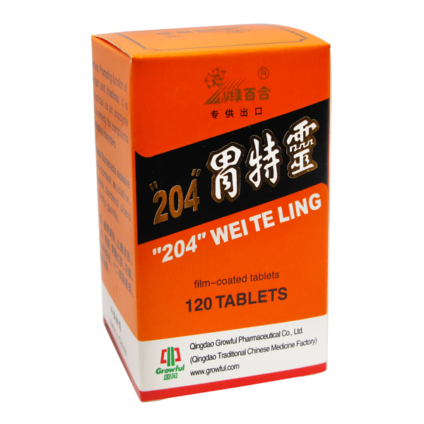 204 Wei-Te Ling - 120 Tablete 0
