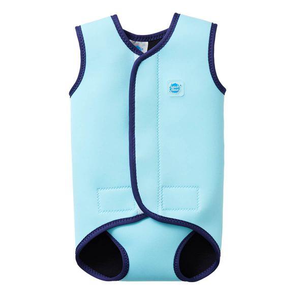 Costum neopren cu velcro bebeluşi - Baby Wrap™ Albastru Cobalt 0