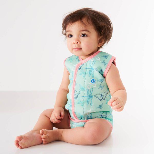 Costum neopren cu velcro bebeluşi - Baby Wrap™ Libelule 1