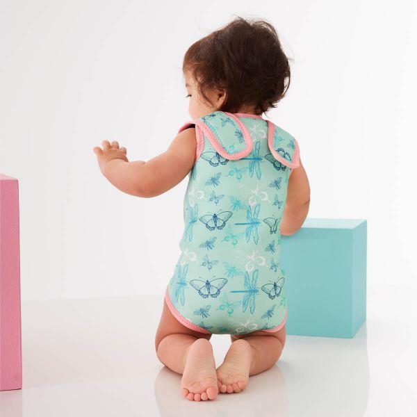 Costum neopren cu velcro bebeluşi - Baby Wrap™ Libelule 2