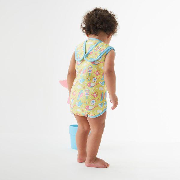 Costum neopren cu velcro bebeluşi - Baby Wrap™ Păsări de Grădină 2