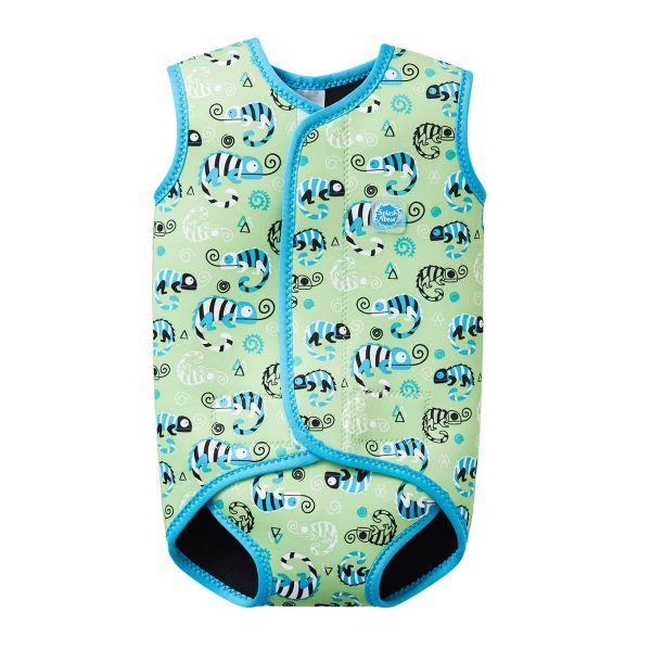 Costum neopren cu velcro bebeluşi - Baby Wrap™ Gegoşii Verzi 0
