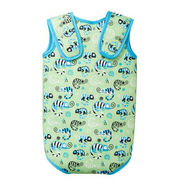 Costum neopren cu velcro bebeluşi - Baby Wrap™ Gegoşii Verzi 1