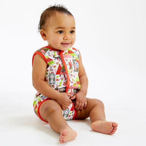 Costum neopren cu velcro bebeluşi - Baby Wrap™ Din Pădure 2