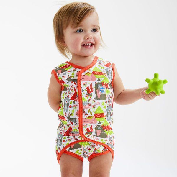 Costum neopren cu velcro bebeluşi - Baby Wrap™ Din Pădure 3