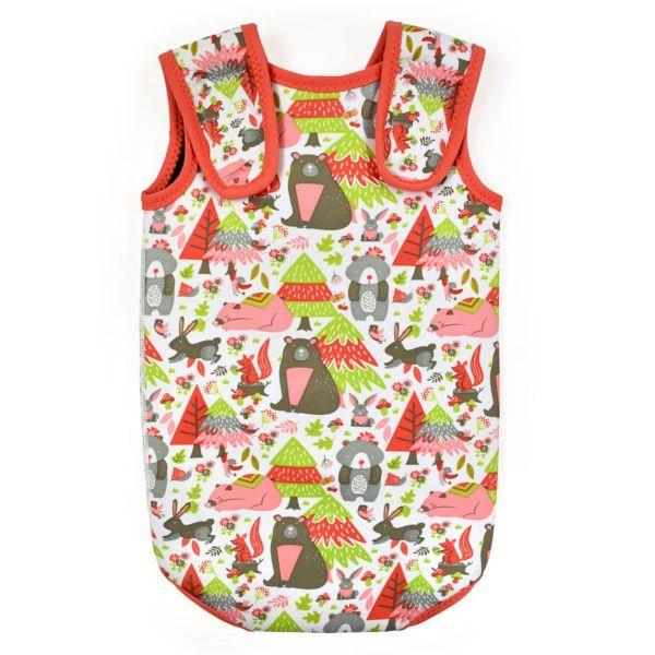 Costum neopren cu velcro bebeluşi - Baby Wrap™ Din Pădure 1