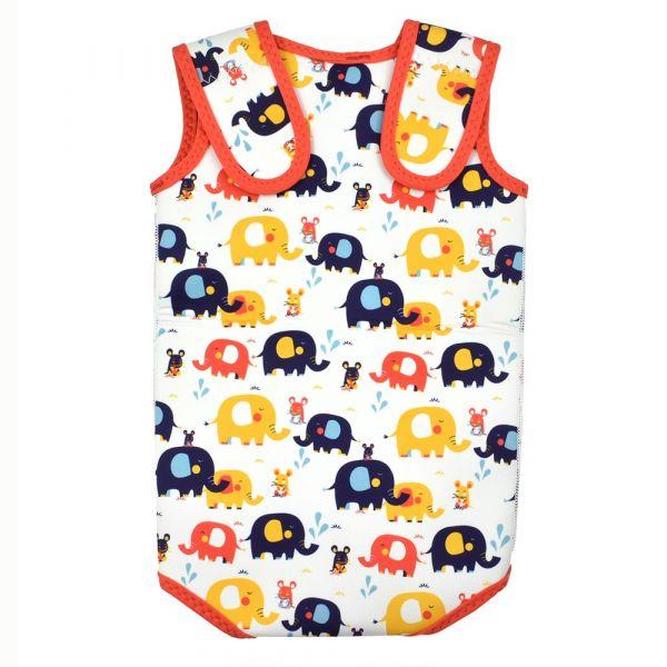 Costum neopren cu velcro bebeluşi - Baby Wrap™ Micii Elefanți 1