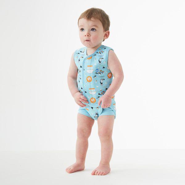 Costum neopren cu velcro bebeluşi - Baby Wrap™ Arca lui Noe 2