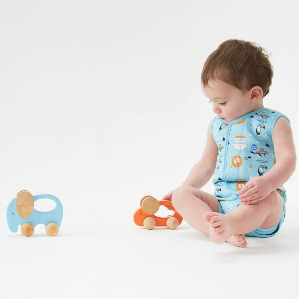 Costum neopren cu velcro bebeluşi - Baby Wrap™ Arca lui Noe 3