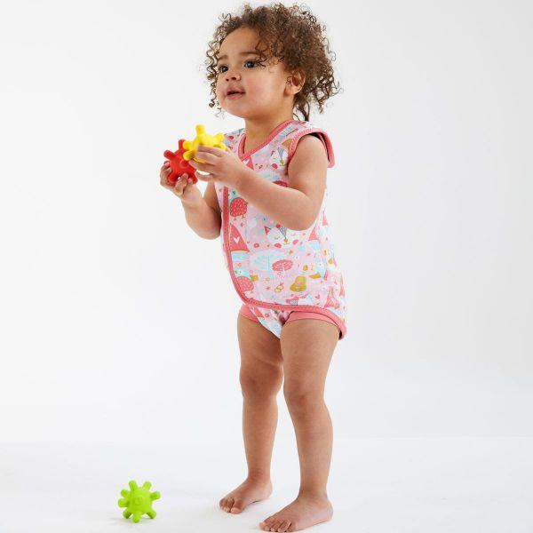 Costum neopren cu velcro bebeluşi - Baby Wrap™ Bufnițe şi Pisicuțe 2