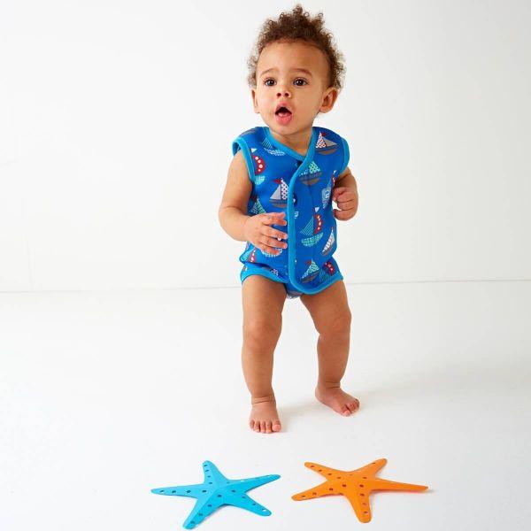 Costum neopren cu velcro bebeluşi - Baby Wrap™ Micul Navigator 1