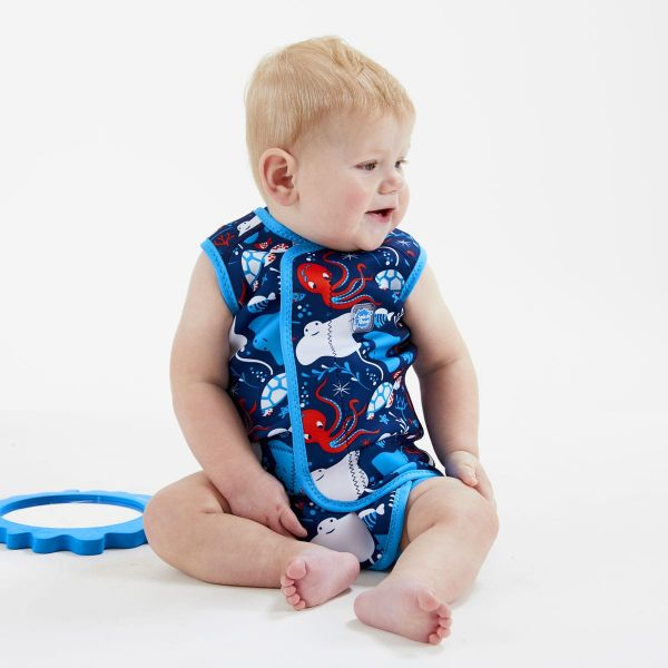Costum neopren cu velcro bebeluşi - Baby Wrap™ Din Ocean 3